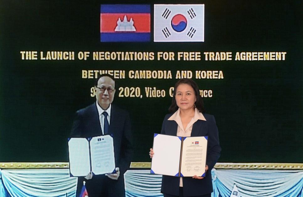 한국-캄보디아, FTA 협상 시작한다